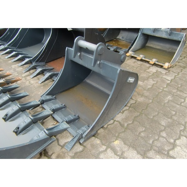 Backhoe bucket with teeth Lehnhoff MS03 - 2014 - 0h.- new