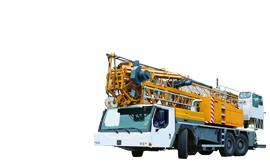 Mobile build cranes