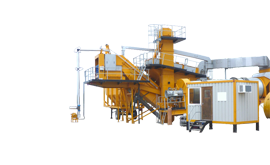 Mobile Batch Production Asphalt Plants