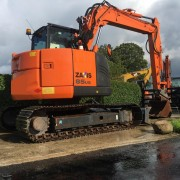 Compact Excavator Hitachi ZX 85US-5A - 2015 - 2.817h