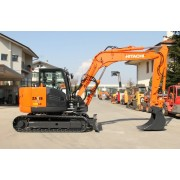 Compact Excavator Hitachi ZX 85USBLCN-3 - 2009 - 5.617h