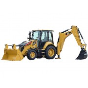 Backhoe Loader Caterpillar 432F2 - 2018 - 1.180h