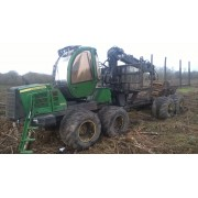 Forwarder John Deere 1510E - 2011 - 11.700h