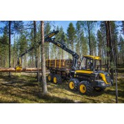 Forwarder Ponsse Wisent - 2015 - 6.237h