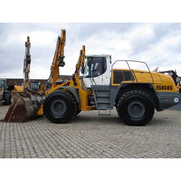 Wheel loader Liebherr L566 - 2014 - 7 057h page 3
