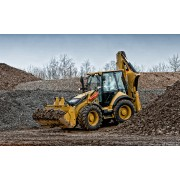 Backhoe Loader Caterpillar 444F - 2014 - 6.057h