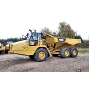 Articulated Dump Truck Caterpillar 730C2 - 2017 - 470h