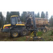 Forwarder Ponsse Wisent - 2016 - 3.070h