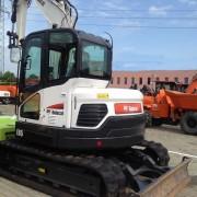 Новый мини-экскаватор BOBCAT E 85 - 2014