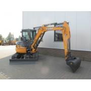Новый мини-экскаватор CASE CX 55B - 2012