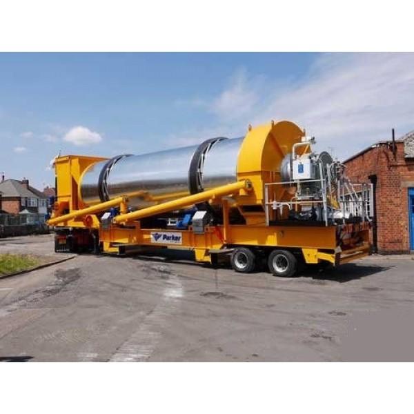Mobile Batch Production Asphalt Plant Parker RoadStar 150 - 2019 - 0 h.