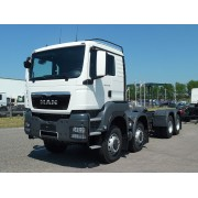 Chassis MAN TGS 41.480 BB - 8x8 - 2015 - 7h.