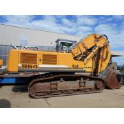 Tracked excavator Liebherr R 964C HD - 2009 - 7.574h